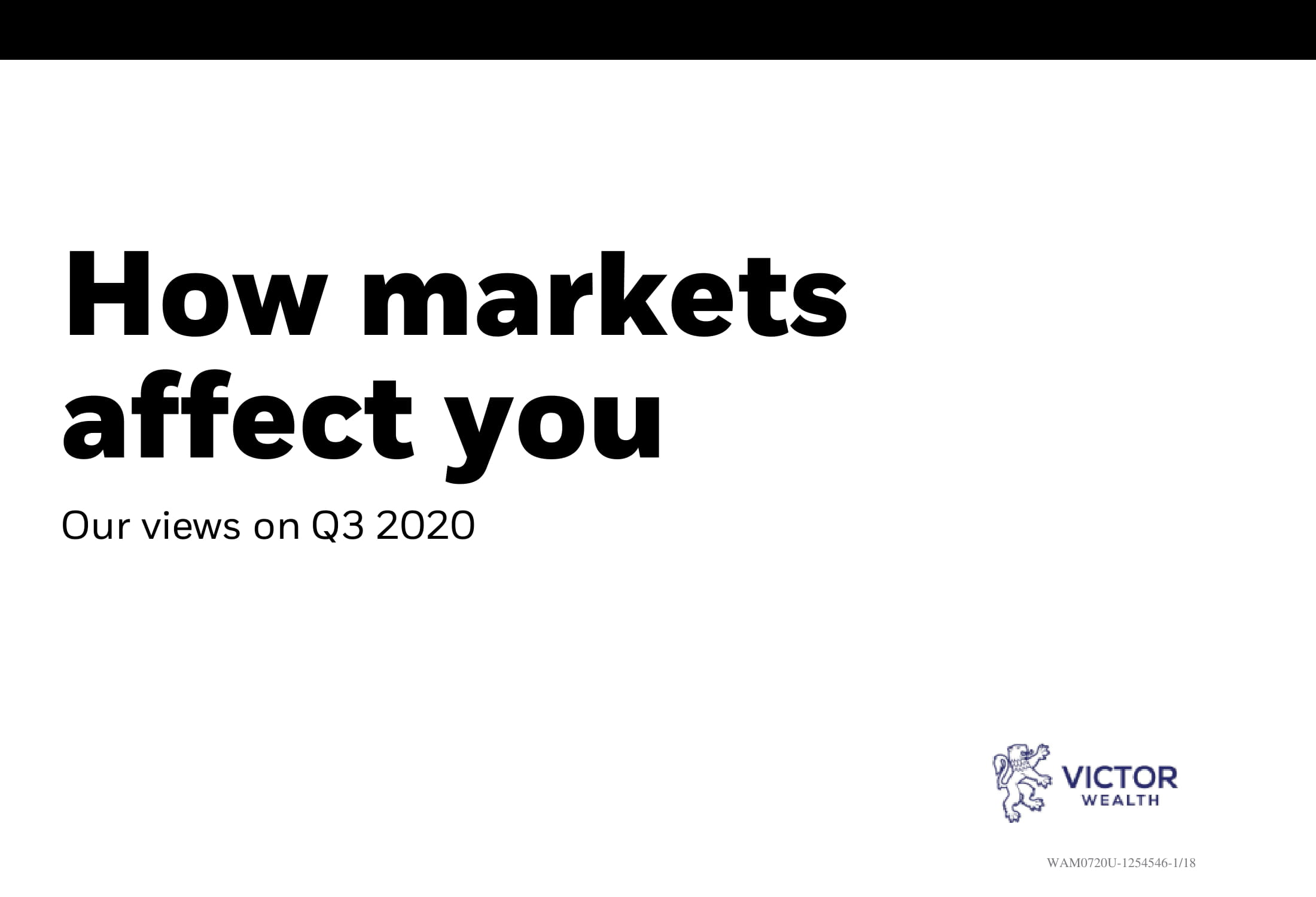 How Markets Affect You Guide